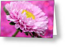 Think In Pink Greeting Card
