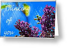 Thinking Of You 3 Greeting Card