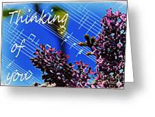 Thinking Of You  - Memories - Music Greeting Card