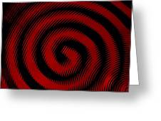 Thinking Red Greeting Card