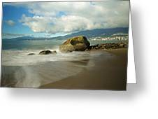 Third Beach In Vancouver Greeting Card