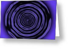 Third Eye Chakra Greeting Card