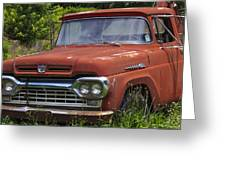 Third Generation Ford F 350 Greeting Card