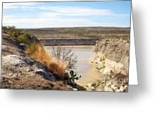 Thirsty Rio Grande Greeting Card