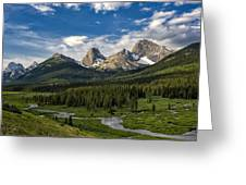 This Is Alberta No.27 - Spray Valley Peaks Greeting Card