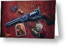 This Is Not A Gun Greeting Card