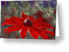This Is Not Just Another Flower - Spr01 Greeting Card