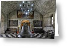 This Is The Philippines No.89 - San Agustin Church Bell Greeting Card by Paul W Sharpe Aka Wizard of Wonders