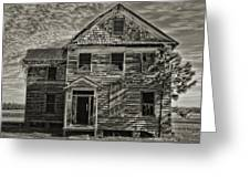 This Old House 3 Greeting Card