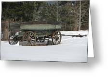 This Old Wagon Greeting Card