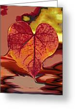 This One Is For Love Greeting Card by Linda Sannuti