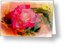 This Rose Reminds Me Of You Greeting Card