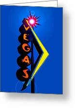 This Way To Vegas Greeting Card