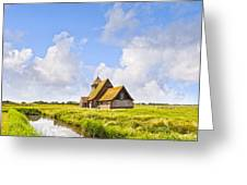 Thomas A Becket Church Romney Marsh Greeting Card by Colin and Linda McKie