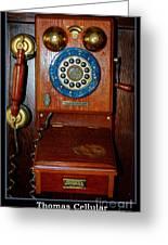 Thomas Cellular Greeting Card
