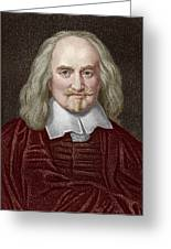 Thomas Hobbes Greeting Card