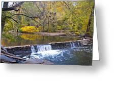 Thomas' Mill Dam Greeting Card