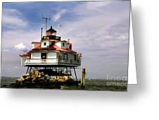Thomas Point Shoal Lighthoues Greeting Card