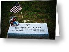 Thomas W. Teller Greeting Card