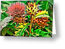 Thorny Greeting Card