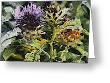 Thorny Crazy Greeting Card