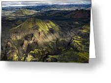 Thorsmork Valley In Iceland Greeting Card