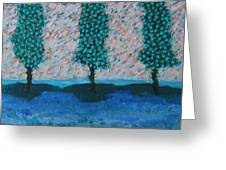 Those Trees I Always See #7 Greeting Card