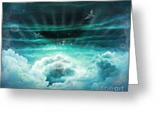Those Who Have Departed - Celestial Version Greeting Card