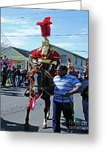 Thoth Parade Rider Greeting Card