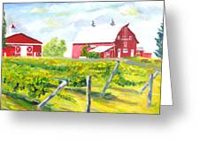 Thousand Islands Winery-september Greeting Card