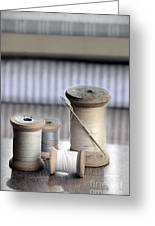 Thread And Needle Greeting Card