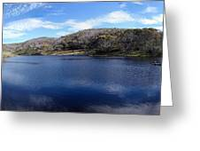 Threadbo Lake Panorama - Australia Greeting Card