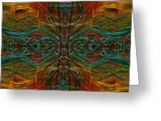 Threaded Symmetry Greeting Card