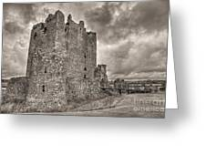 Threave Castle In Grey Greeting Card