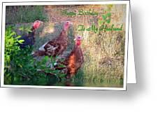 Three Amigos Happy Birthday Husband Greeting Card