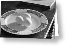 Three Eggs 2 Greeting Card