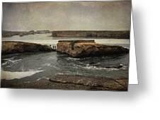Three Fishermen Greeting Card