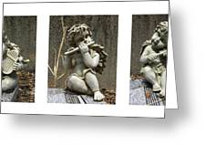 Three Musicians Triptych  Greeting Card