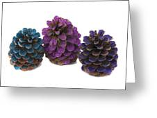 Three Pineapples Greeting Card