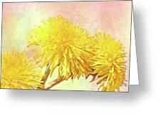 Three Simple Things Greeting Card by Bob Orsillo