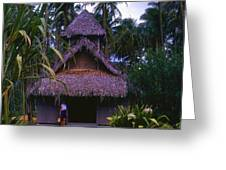 Three Story Hut 2 In Color Greeting Card
