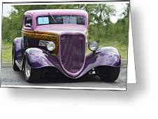 Three Window Coupe Greeting Card