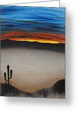 Thriving In The Desert Greeting Card by Sayali Mahajan