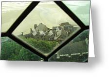 Through A Window To The Past Greeting Card