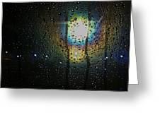 Through My Window Greeting Card by Anna Villarreal Garbis