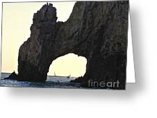 Through The Arch Greeting Card