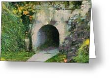 Through The Tunnel Greeting Card