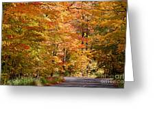 Through The Woods By D. Perry Lawrence Greeting Card