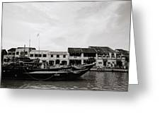 Thu Bon River Hoi An Greeting Card