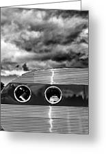 Thunder And Lightning Palm Springs Greeting Card